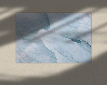 Gletsjer ijs Ymerbukta, Spitsbergen van Michèle Huge