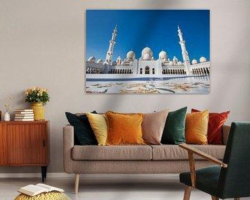 Grand Mosque Abu Dhabi van Ronne Vinkx