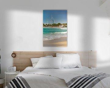 Burj al Arab et JBR Beach sur Ronne Vinkx