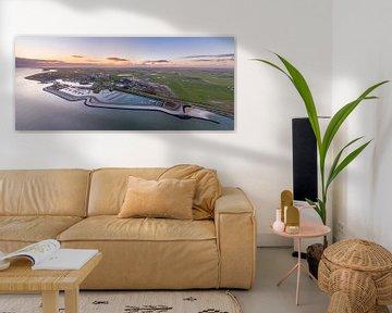 Coucher de soleil de Oudeschild Texel sur Texel360Fotografie Richard Heerschap