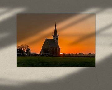 Den Hoorn zonsondergang van Texel360Fotografie Richard Heerschap