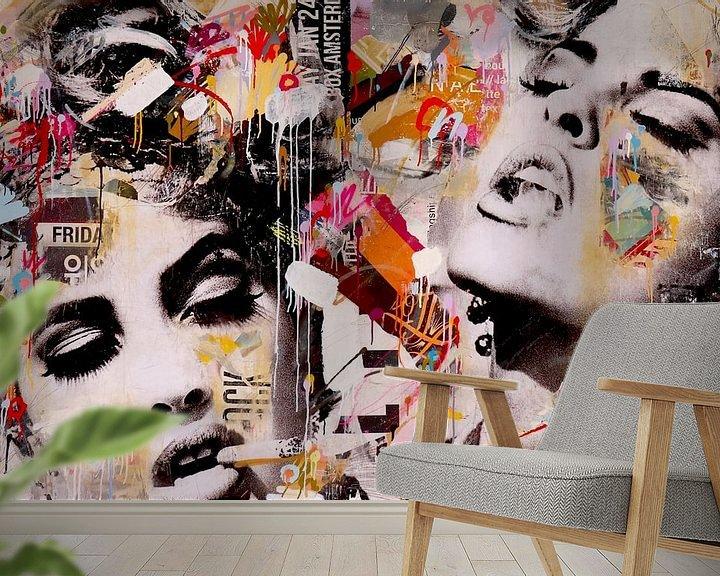 Sfeerimpressie behang: Ephemeral Passion van Michiel Folkers