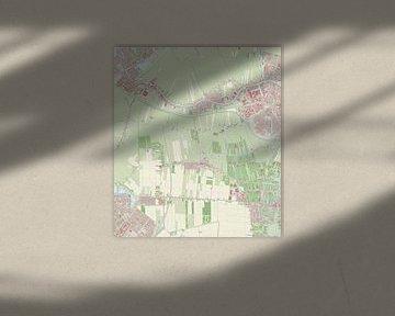 Kaart vanRijnwoude