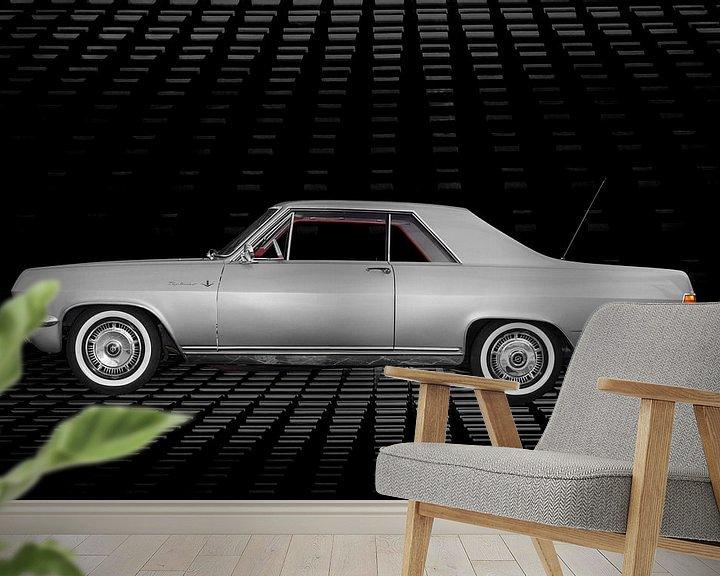 Sfeerimpressie behang: Opel Diplomat A V8 Coupé (originele kleur) van aRi F. Huber