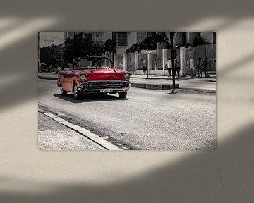 Oldtimer in Havanna, Kuba von Carina Buchspies