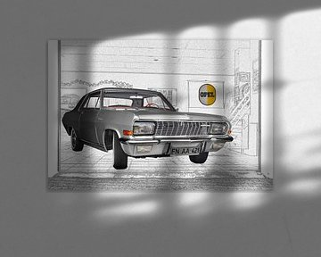 Opel Diplomat A V8 Coupé van aRi F. Huber