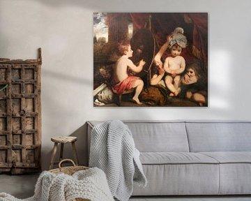 Die Säuglingsakademie, Joshua Reynolds