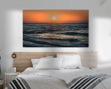 Norderney - Coucher de soleil sur Steffen Peters