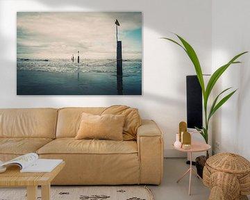Impression de la mer du Nord sur Steffen Peters