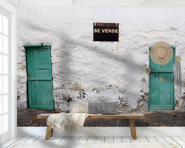 Sfeerimpressie behang: Verlaten plekken: woning van Inge Hogenbijl