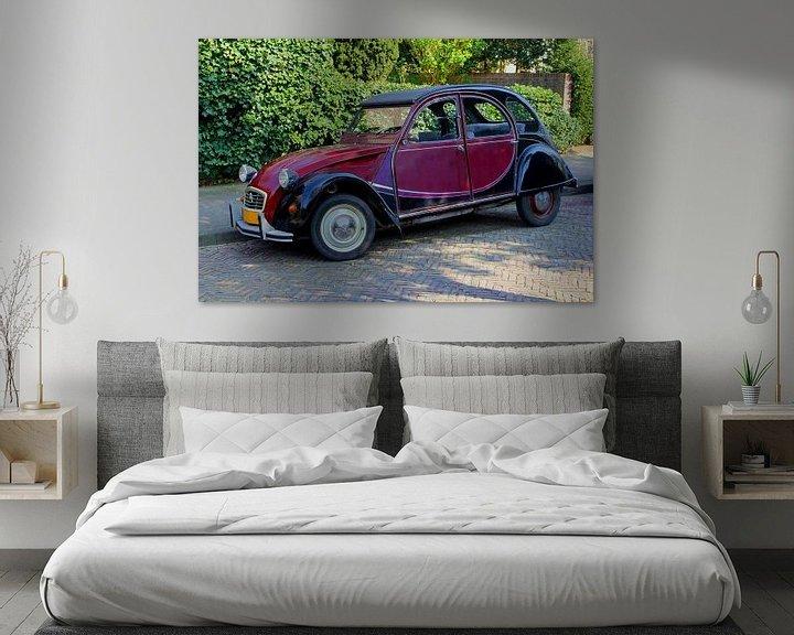 Sfeerimpressie: Citroën 2CV van Inge Hogenbijl