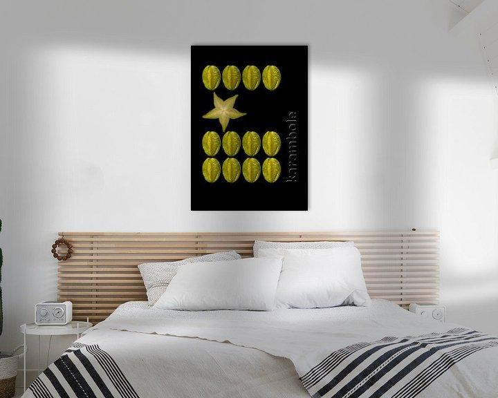 Beispiel: foodART - Karambole von Erich Krätschmer