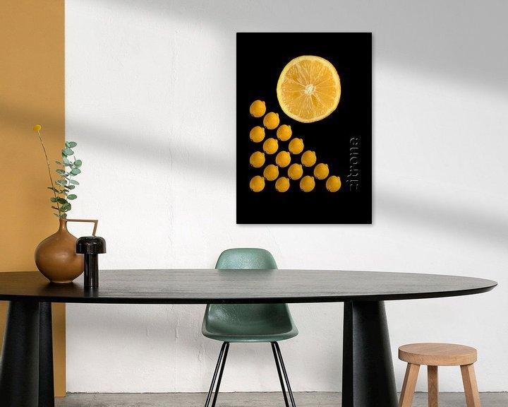Beispiel: foodART - Zitrone von Erich Krätschmer