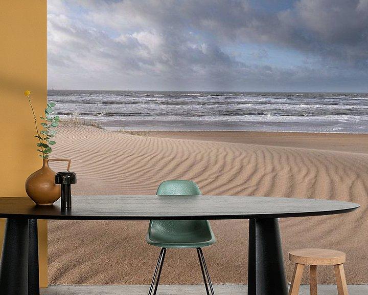 Beispiel fototapete: Meer und Sand von Arjan van Duijvenboden