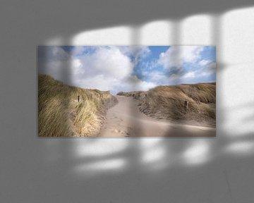 Sandweg von Arjan van Duijvenboden