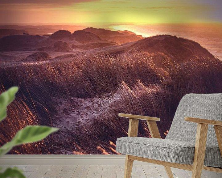 Impression: Vue sur les dunes du Danemark sur Florian Kunde