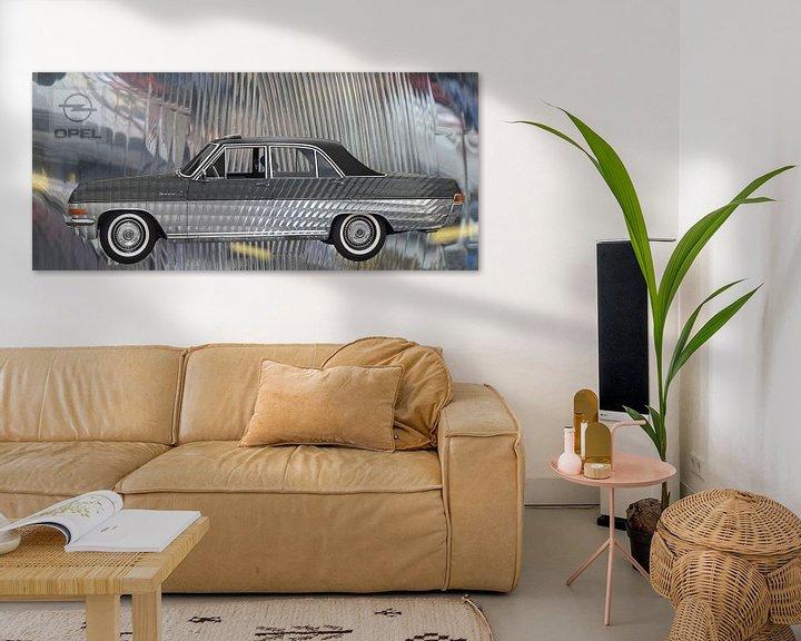 Sfeerimpressie: Opel Diplomat A Art Car van aRi F. Huber