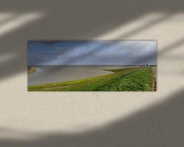 Hoog water / High tide van Henk de Boer
