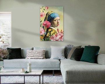 Girl with Pearl Earring – The Spring Edition van Marja van den Hurk