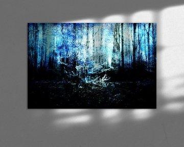 Am Ende eines Waldes #02 von Peter Baak