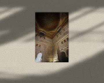 Alcazar, Palast von Sevilla von EFFEKTPHOTOGRAPHY.nl