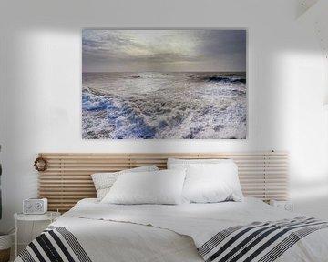 Sturm auf See ( Vlissingen) von Els Fonteine