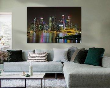 Skyline 1 van Martin de Hoog