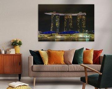 Marina Bay Sands 3 von Martin de Hoog