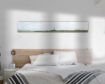Panorama the lighthouse von Twan Van Keulen