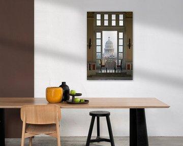 Tisch für zwei, Havanna, Kuba von Henk Meijer Photography