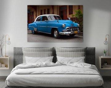 Chevrolet Bel Air, Havana, Cuba van Henk Meijer Photography