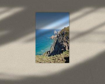 Cabo da Roca, het meest westelijke punt van het Europese vasteland. van Berthold Werner