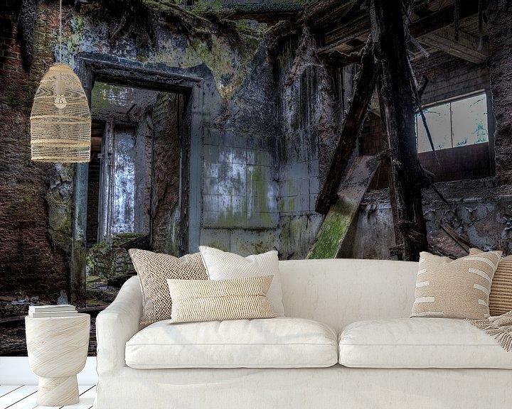 Beispiel fototapete: Urbex: Abgelaufenes Haus von Jarno De Smedt