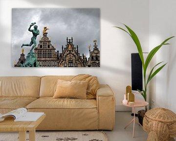 Grote Markt, Antwerpen van Jim van Iterson