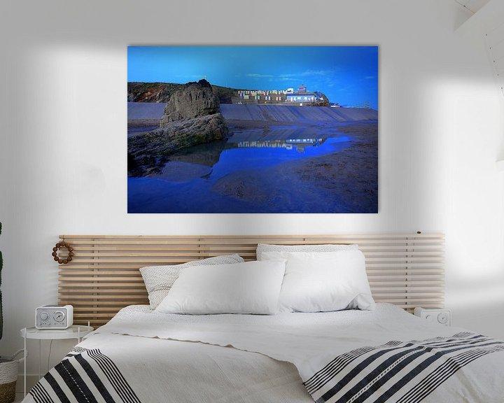 Beispiel: Strandhäuschen Bude Cornwall von Patrick Lohmüller