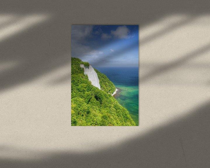 Beispiel: Kreidefelsen Königsstuhl auf Rügen von Michael Valjak