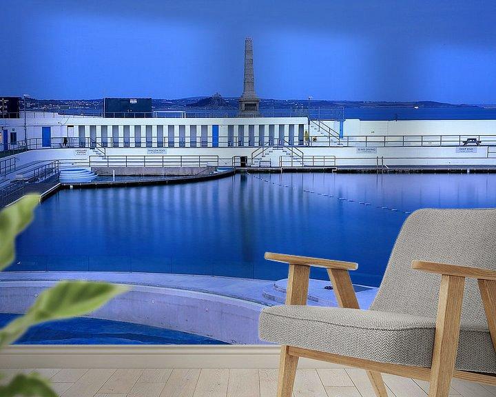 Beispiel fototapete: Jubilee Pool Penzance von Patrick Lohmüller