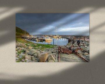 Hafen in Lohme auf Rügen von Michael Valjak