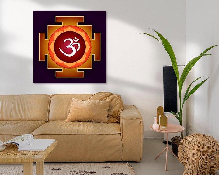 Beispiel: AUM - Yantra für Yoga-Meditation. Symbol des Absoluten von Paul Evdokimov
