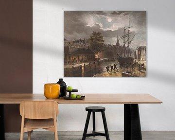 Zuiderhaven in Groningen, Carel Christiaan Antony Last