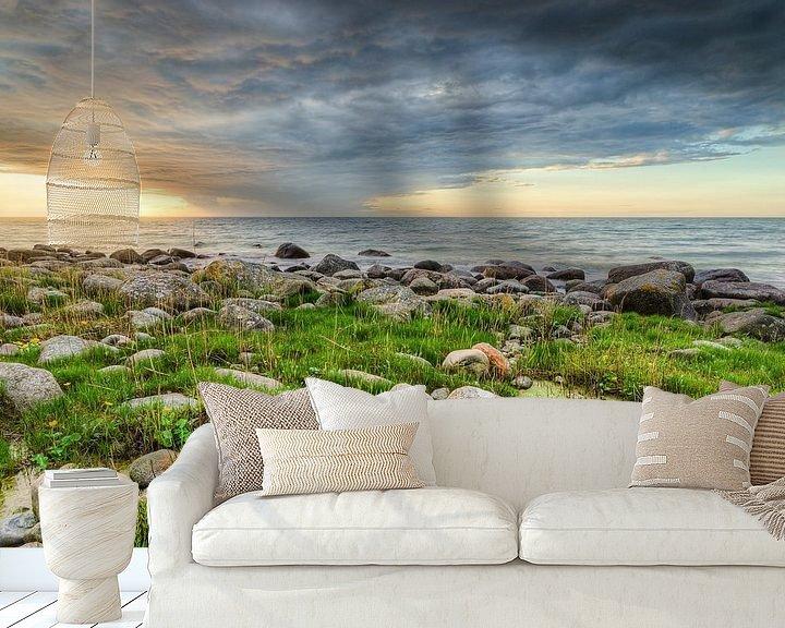 Beispiel fototapete: Sonnenuntergang auf Rügen von Michael Valjak