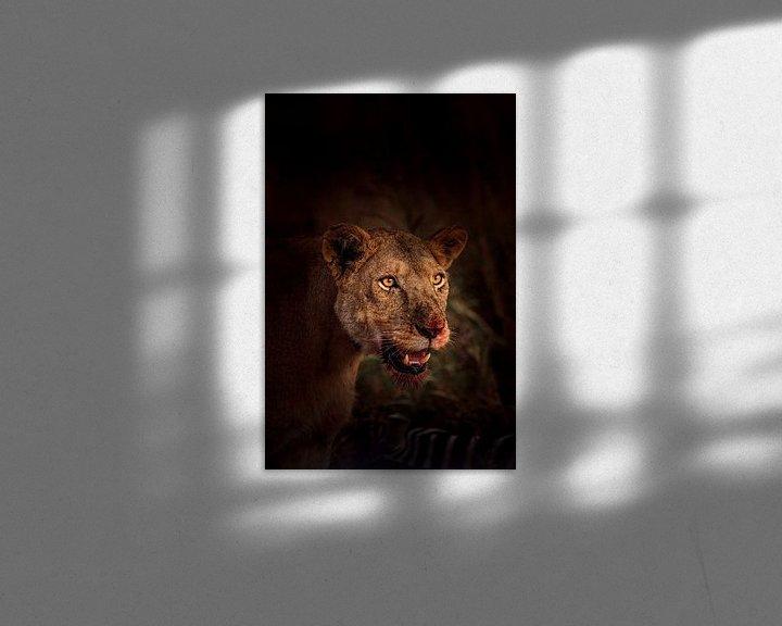 Sfeerimpressie: Bloody Lion van Thomas Bartelds