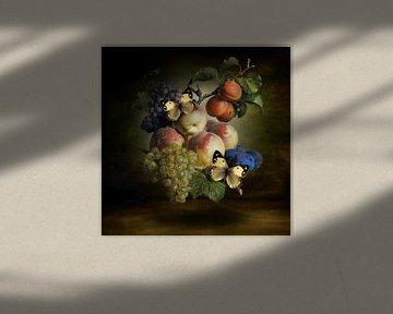 All Fruits and Butterflies van Marja van den Hurk