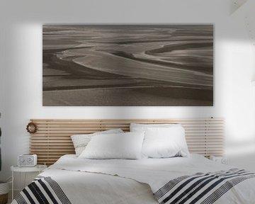 abstract in zwart-wit van Corrie Ruijer
