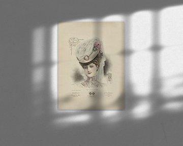 Dame met hoed van Andrea Haase