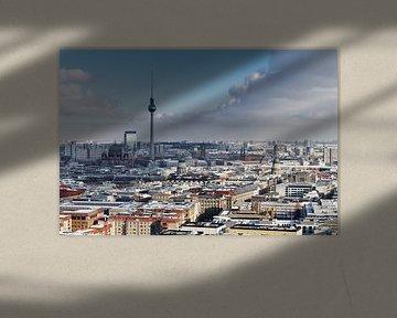 Berlin Cityblick im Winter von Ralf Lehmann
