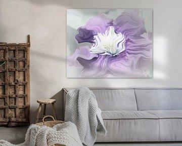 Pastel in Purple van Yvonne Blokland