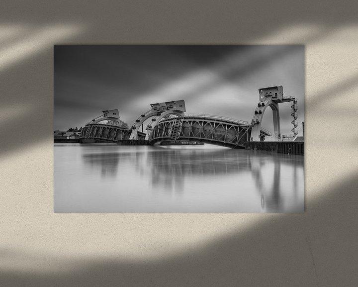 Sfeerimpressie: Waterkering Stuwcomplex Hagestein van Jan van der Vlies