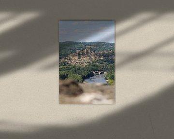 Dorf in Dordonge (Frankreich) von Reiselief photography
