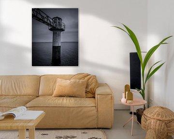 Leuchtturm Oostmahorn (Friesland) Die Niederlande von Tom Knotter